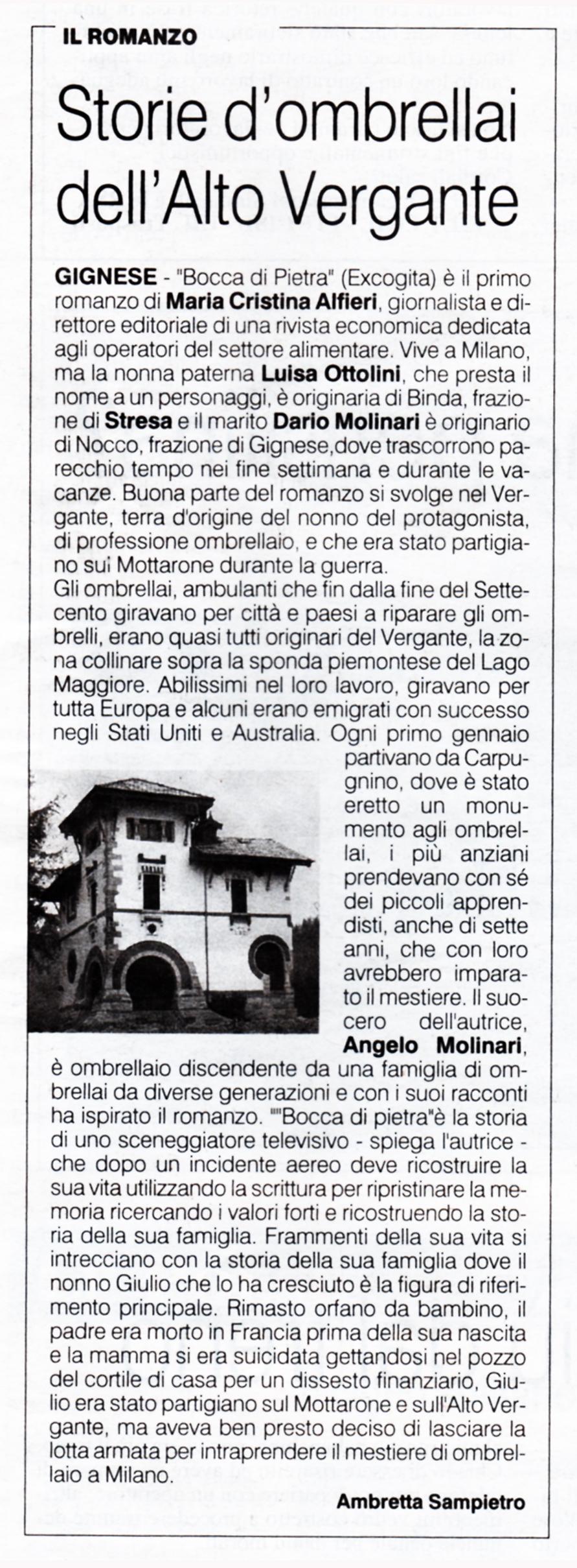 Articolo Alfieri