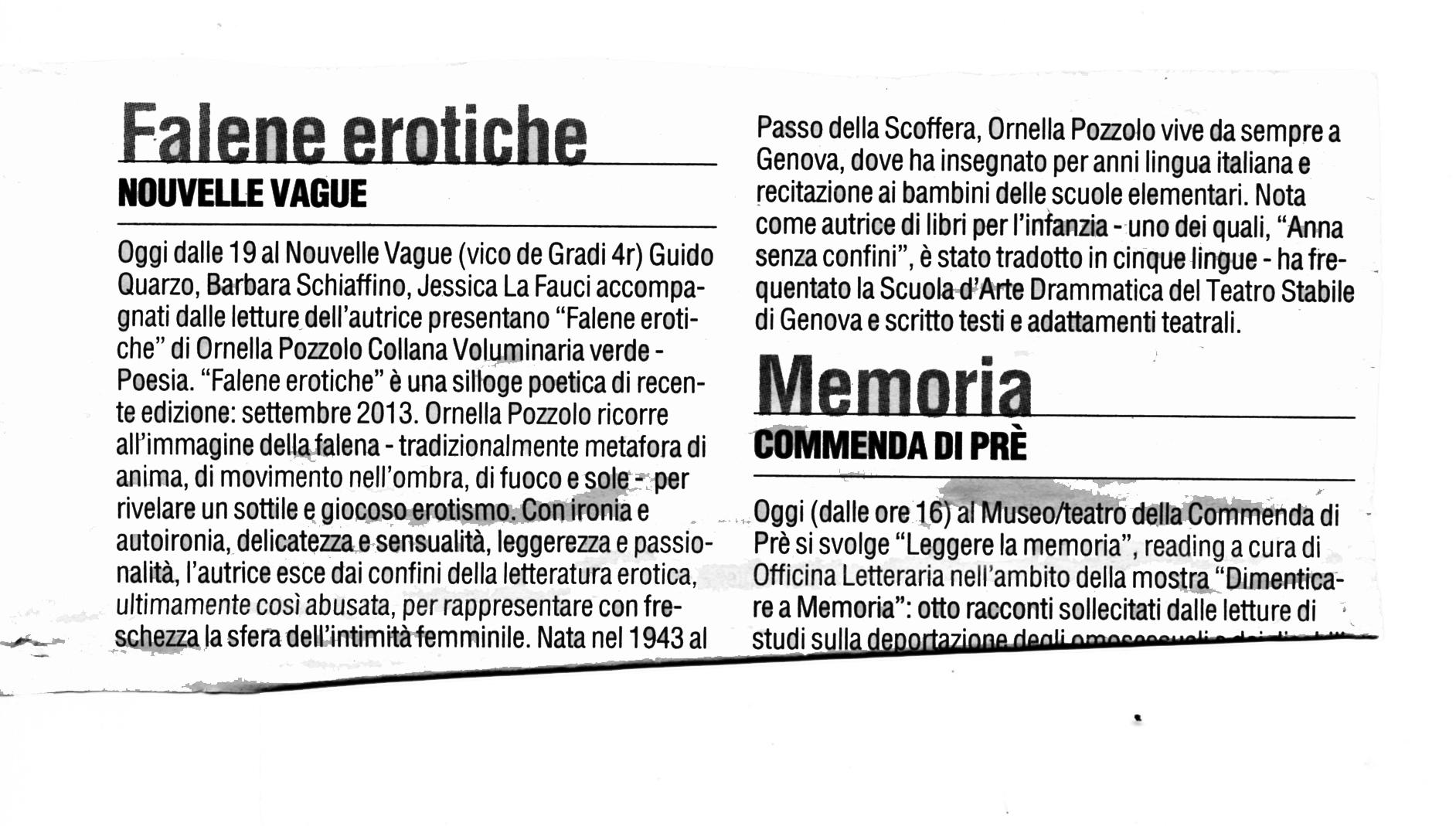 Corriere Mercantile 02022014