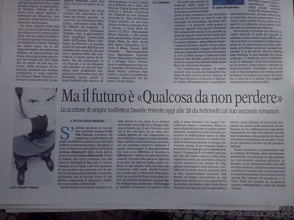 Gazzetta del Mezzogiorno 30062015