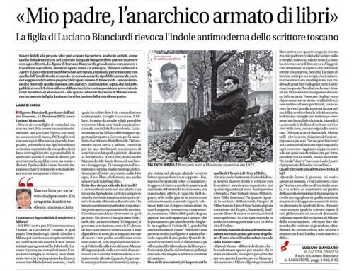 Il corriere del Ticino – 8 marzo 2018