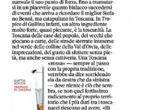 Tropico di Gallina Corriere Fiorentino